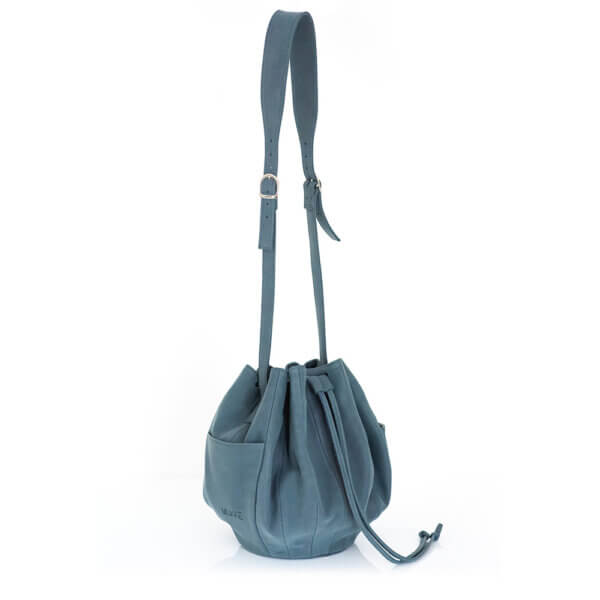 torebka niebieska worek